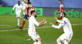 Soccer PIX: Real win Madrid derby; Bayern held