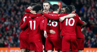 Liverpool on course to shatter EPL points record