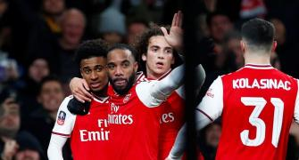 FA Cup PHOTOS: Arsenal edge past Leeds