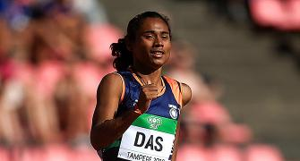 Rijiju consoles Hima Das on missing Olympics