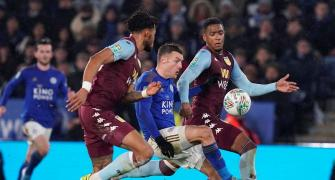 Soccer PIX: Villa hold Leicester in League Cup