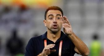 Xavi says hopes to coach Barcelona in the future