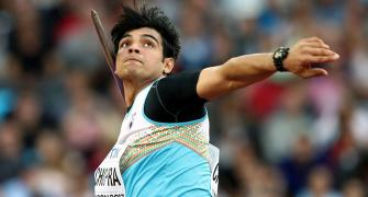 Neeraj Chopra starts training for Olympics