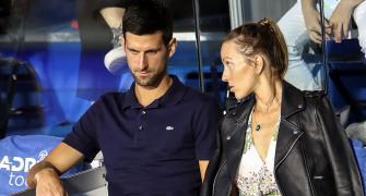 Djokovic and his wife test negative for COVID-19