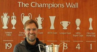 Liverpool's Klopp wins LMA Manager of the Year award