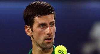 Novak wins compliment from James for basketball skills