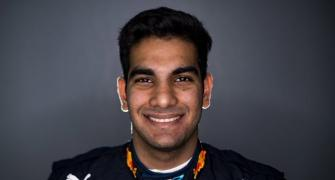 F1 hopeful Daruvala's special flight gamble pays off