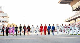 F1 fires up, four months late and without a crowd
