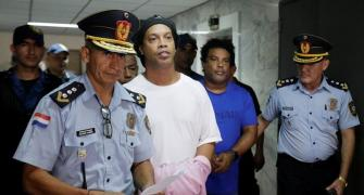 Ronaldinho adapting to jail with usual smile: Warden