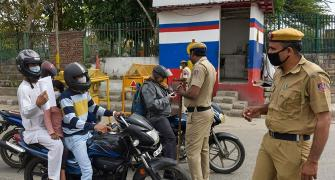 Indian athletes on cop duty amid COVID-19 lockdown
