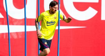 Messi prefers not to over-think risk of COVID-19