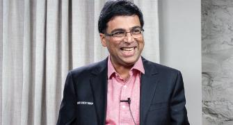 Vishy Anand back in India after three months