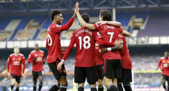 EPL PIX: United ease to victory; Chelsea moves to 3rd