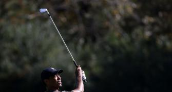 Woods makes hot start at Augusta Masters