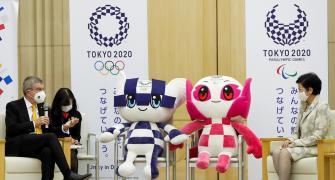 IOC president says 'no Plan B' for Tokyo Olympics