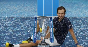 Medvedev rallies to claim ATP Finals title