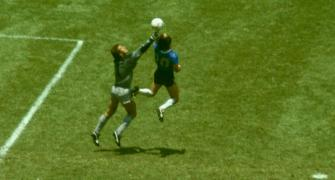 'It was scored with the head of Diego and hand of God'