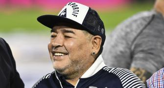 Argentine football legend Maradona passes away