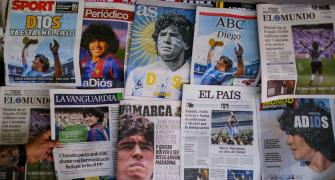 'God is dead': Newspapers pay tribute to Maradona