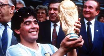 Maradona's life, in pictures
