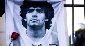 'Maradona leaves too soon, but leaves a legacy'