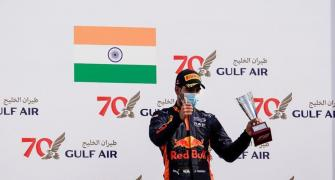 Formula 2: India's Jehan pips Schumacher for podium