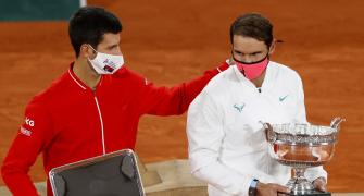 Djokovic is in awe of Nadal's French open performance