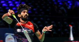 Srikanth cruises into Denmark Open quarters