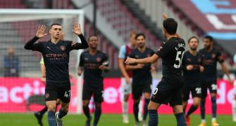 PICS: Foden salvages point for Man City at West Ham