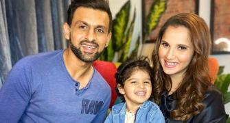 Sania tells son: 'You light up my world'