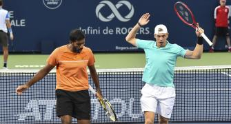 US Open: Bopanna-Shapovalov enter second round