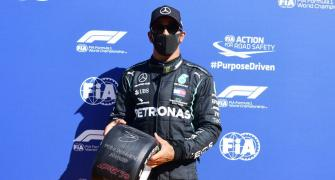 F1: History-making Hamilton takes pole at Monza