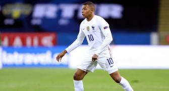 France forward Mbappe tests positive for COVID