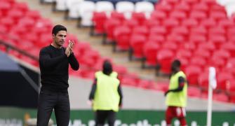Arteta takes responsibility for Arsenal's poor form