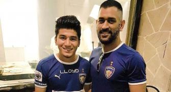 SEE: How Dhoni inspires young footballer