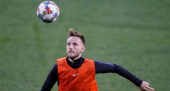 Croatia's Rakitic ends international career