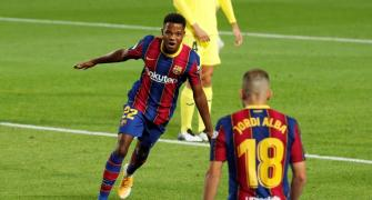 Fati shines as no more 'Messidependencia' at Barca