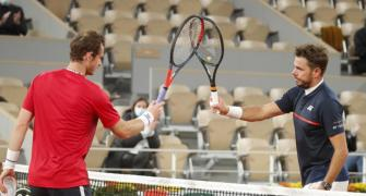 French Open PIX: Andy Murray's hopes crushed