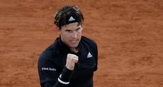 French Open PIX: Thiem proves too good for Cilic
