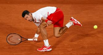 French Open PIX: Djokovic crushes Ymer in opener