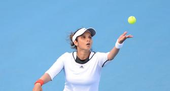 Sania back in TOPS after four-year gap