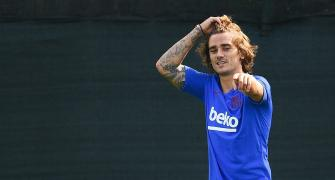 Griezmann welcomes third child on same day as first two!