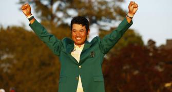 Japan's Matsuyama makes history with Masters win