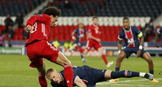 Champions League PIX: PSG knock out Bayern
