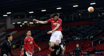 Europa League PIX: Man United, Roma ease into semis