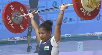 Jhilli bags gold at Asian Weightlifting Championship