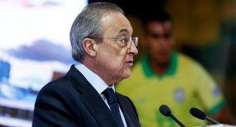 Real Madrid chief Perez tests positive for COVID-19