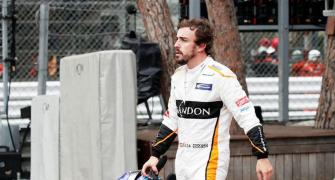 Alonso injured while cycling in road accident