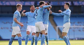 EPL: Manchester City make it 20 straight wins
