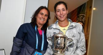 Muguruza's coach Martinez tests positive for COVID-19